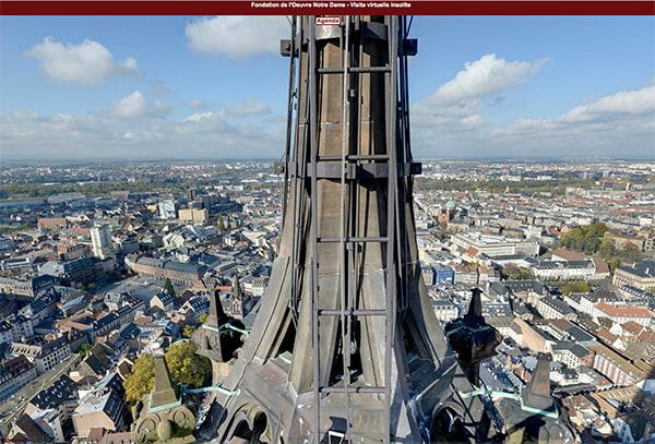 Visite insolite de la cathédrale à 360° - OND | Fondation de ...